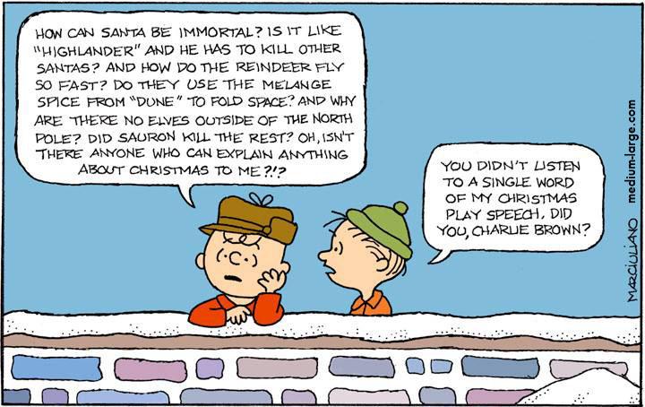 Peanuts Post Credit Christmas