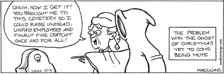 Scrooge Christmas Ghost Mute 1200