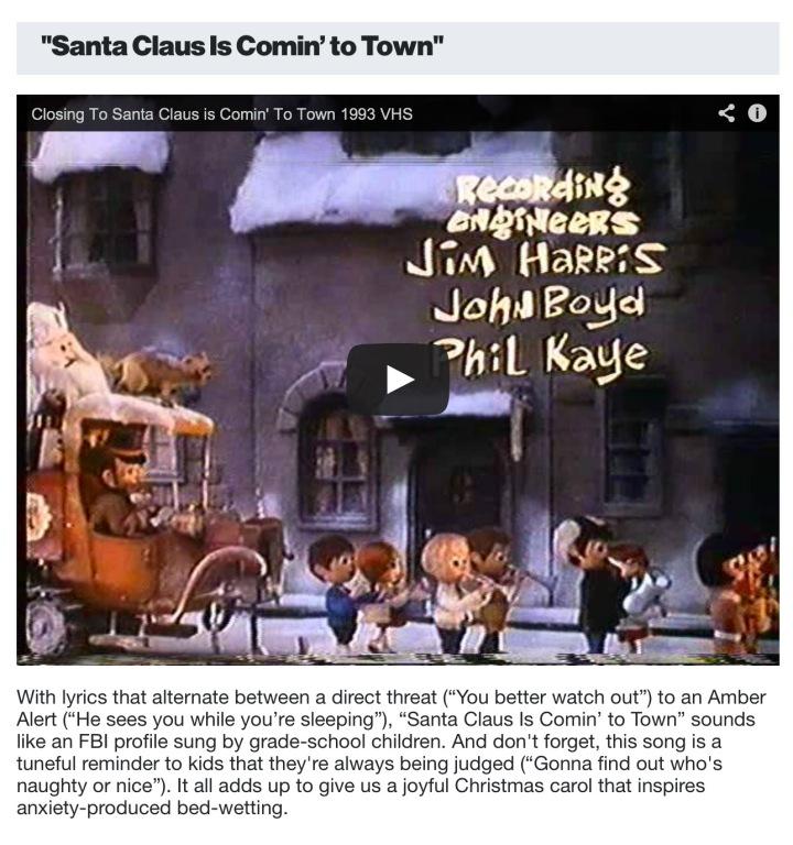 Smosh Sample Holiday Song Disturbing