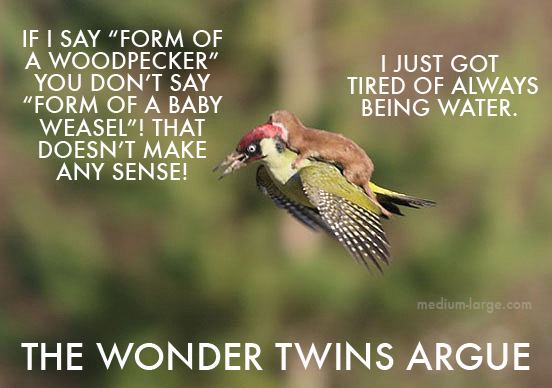 Woodpecker Weasel Wonder Twins 2