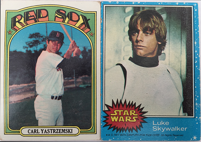 Carl Star Wars Cards Small