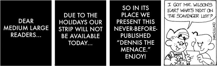 Dennis Menace Ear 1200