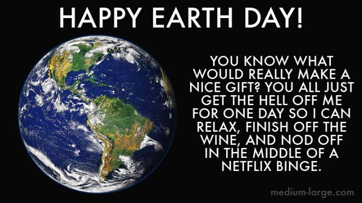 Happy Earth Day Earth