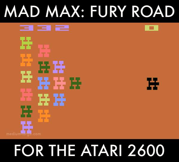 Mad Max Atari 2600 ML