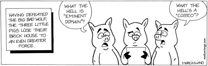 Three Pigs Eminent Domain 1200