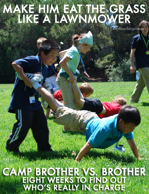 Camp Brother Versus Brother