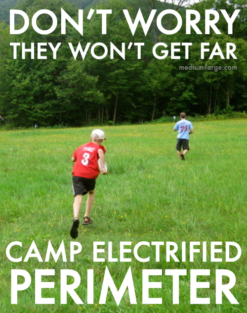 Camp Electrified Perimeter