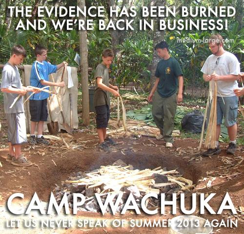 Camp Wachuka Poster