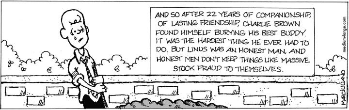 Charlie Brown Buries Linus 1200