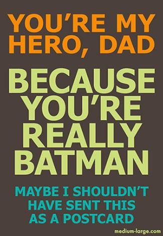 Father's Day Batmen Small