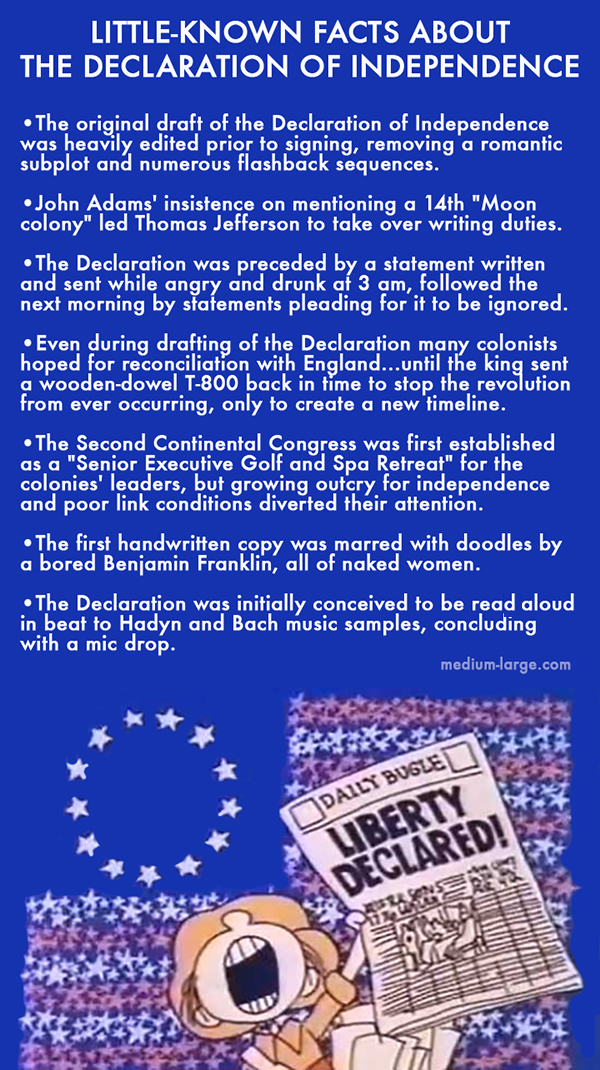Declaration Little-Known Facts Small