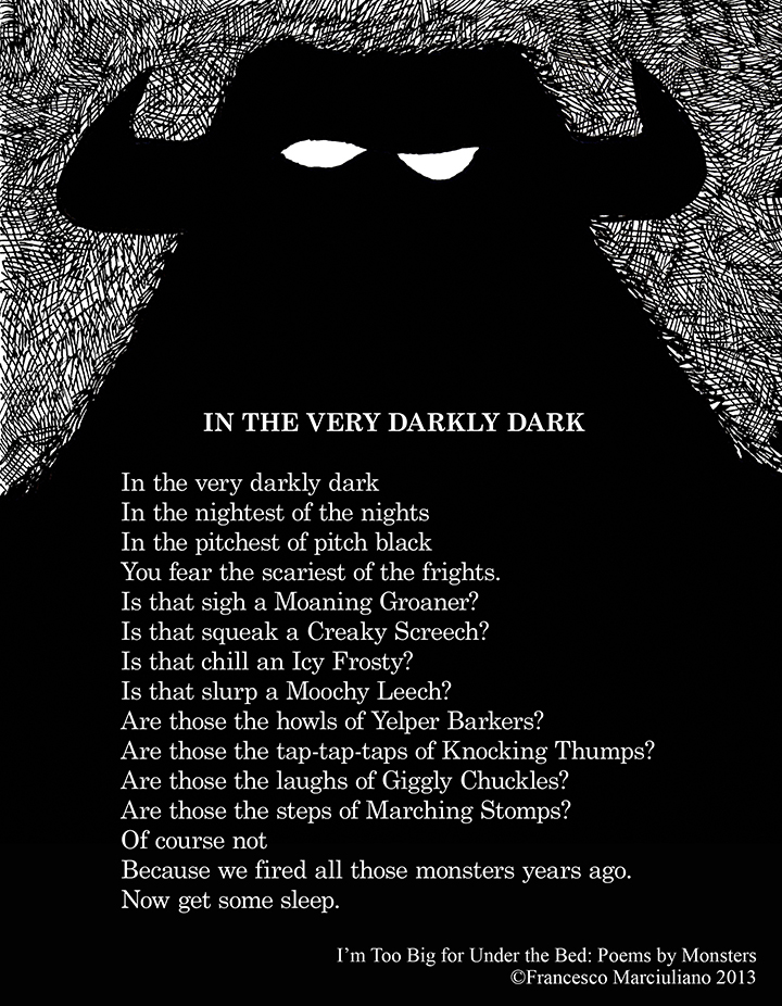 Monster Poem Darkly Small