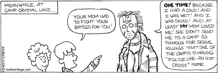 Friday the 13th Jason Mom Small