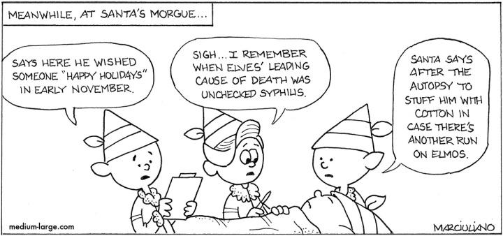 Santa's Morgue Small