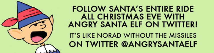 Angry Santa Elf Xmas Eve Banner 2 copy