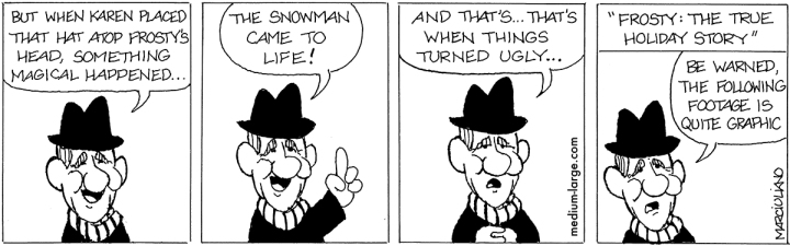 Frosty Jimmy Durante Small
