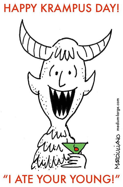 Krampus Card 2 Small
