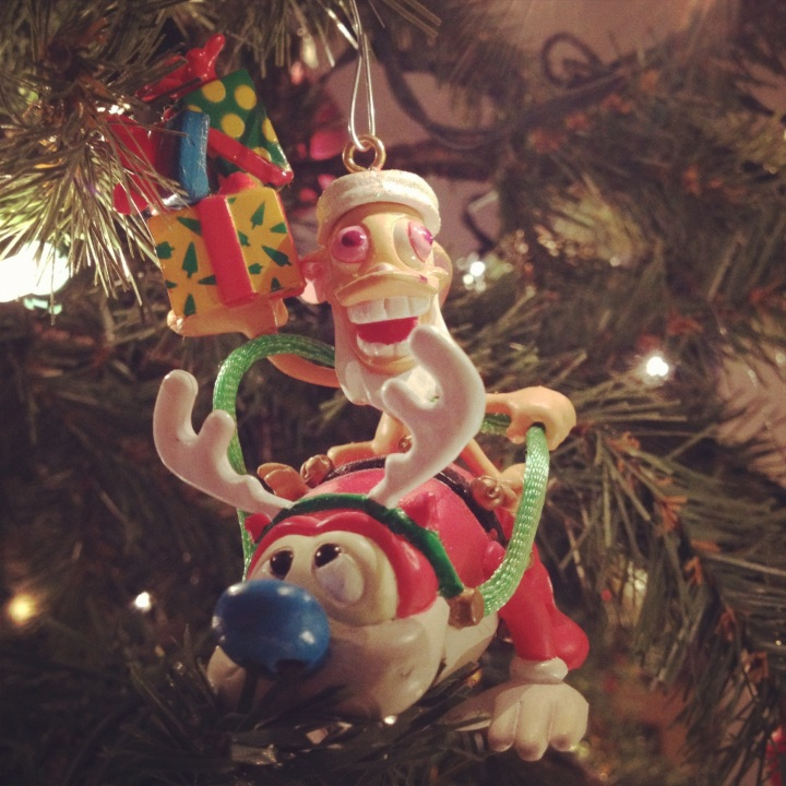 Ren Stimpy Ornament 2012 copy