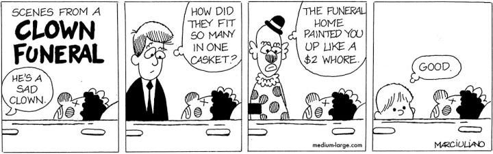 Clown Funeral 1200