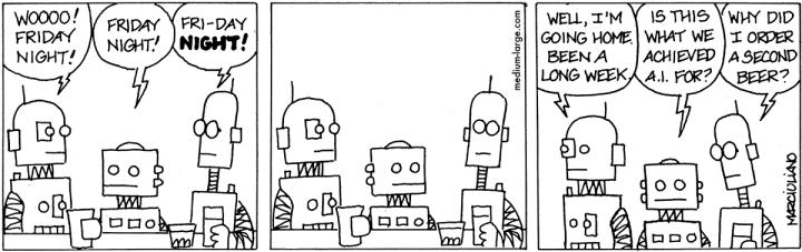 Robots at Bar 1200