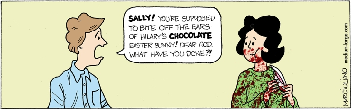 Sally Forth Bunny 1200