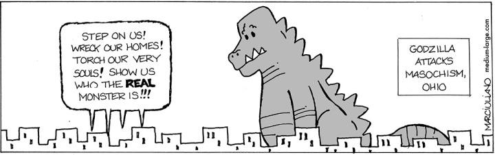 Godzilla Masochism 1200