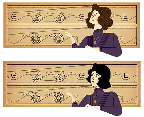 Sally Forth Google Doodle Revised