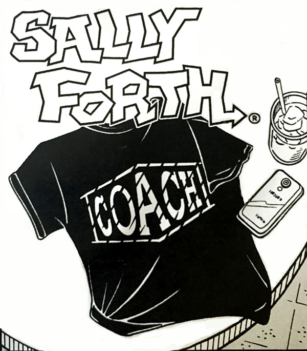 Sally Forth Coach Shirt Small