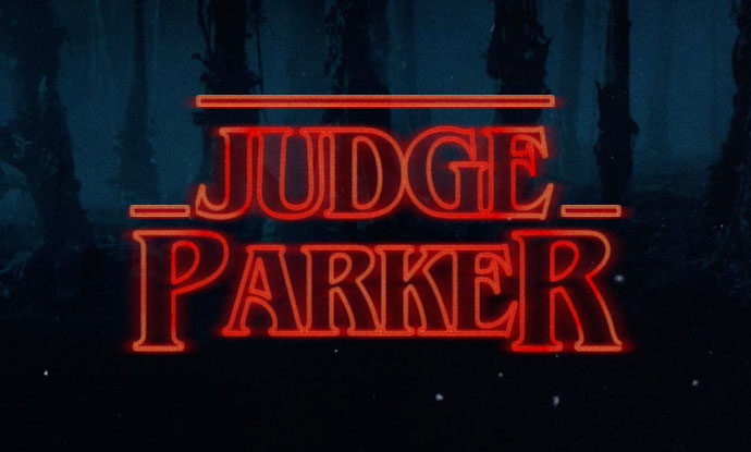 Judge Parker Strange Things Banner