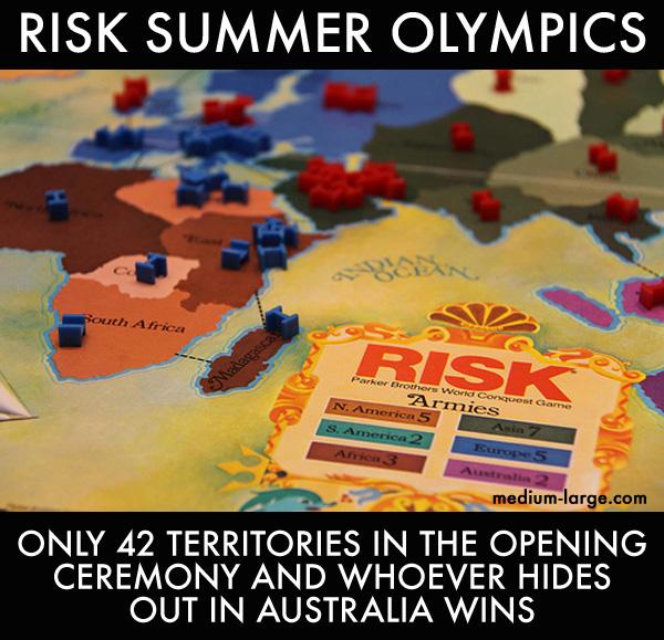 Risk Summer Olympics