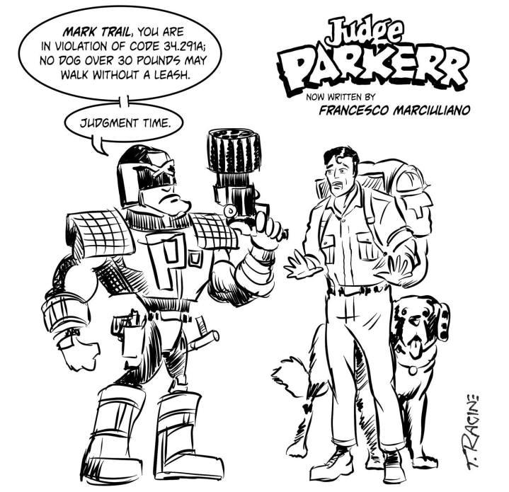Judge Dredd Parker